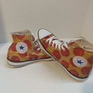 Converse Chuck Taylor All-star Men's Size 9 Pizza